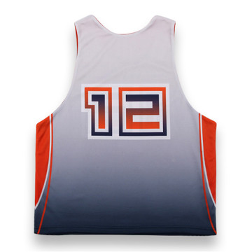 hot sell reversible lacrosse tank top Training Singlets