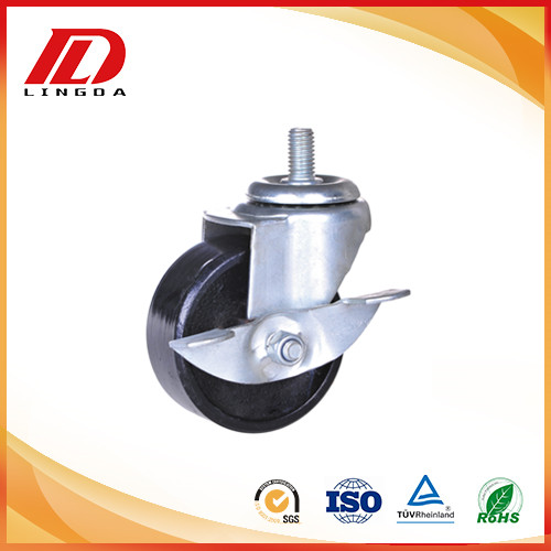 3 inch industrial caster iron wheels