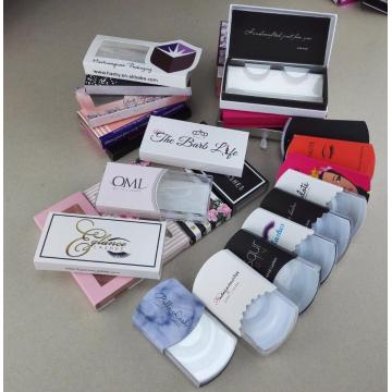 accept custom coated paper eyelash box
