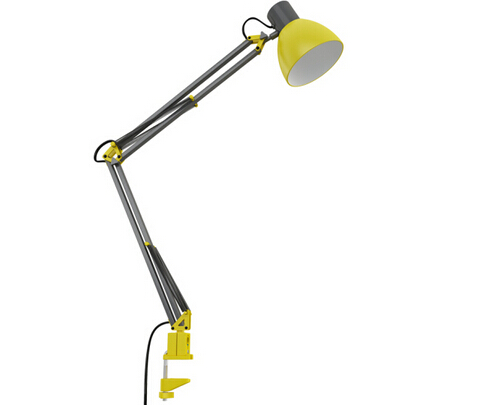 Clamp Desk Lamp Clip On Table Lamp For Bedroom