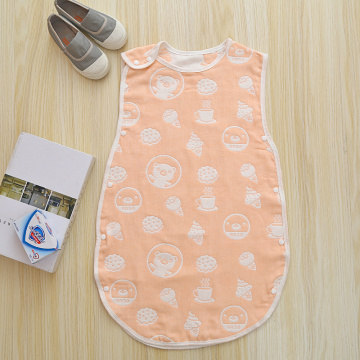 Newborn Sleeping Bag with Cute Bear Patterns