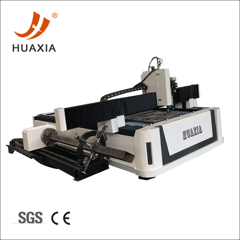 CNC 4axis square pipe and sheet cutting machine