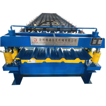 Ibr color steel roof panel roll forming machine