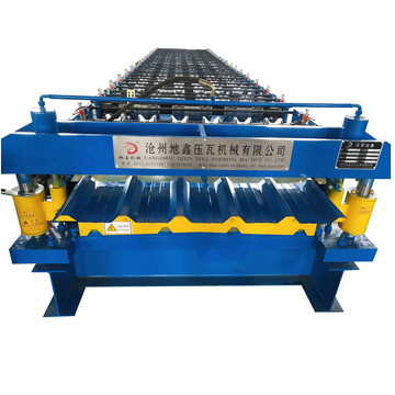 Trapezoidal roof panel roll forming machine price