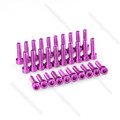 Customzid Anodised Aluminum Socket Screw