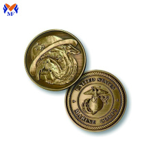 Brass metal dog pet coins for sale