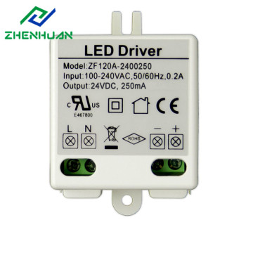 Factory Price for China Constant Voltage Led Driver,Led Transformer,Transformer 220V To 12V Manufacturer Plastic Case 6W 24V DC LED Power Driver supply to Sudan Factories