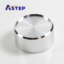 CNC Turning Steel Square End Cap/rotary switch knob/cover