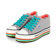 Platform High Top Women's Canvas Shoes