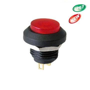 DC AC IP67 Waterproof Momentary Push Button Switch