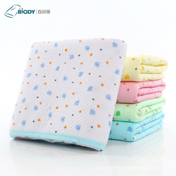 Cheap Printed Crochet Baby Jersey Blankets