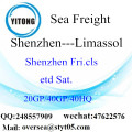 Shenzhen Port Sea Freight Shipping To Limassol
