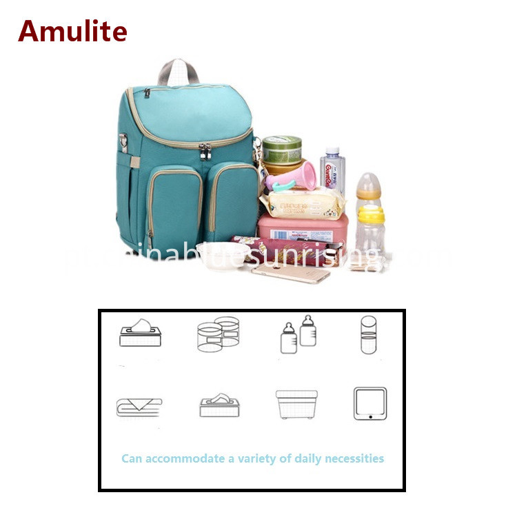 Large capacity mummy baby bag