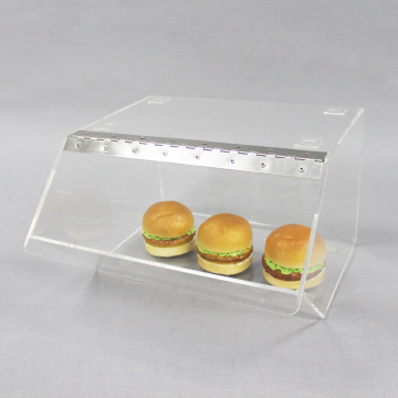Hot Selling Acrylic Bread Box With Lid