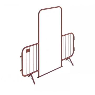 Easy Handle Metal Portable Barricades