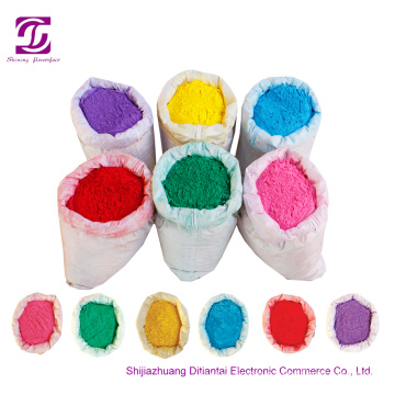 Cornstarch holi color powder for Large event