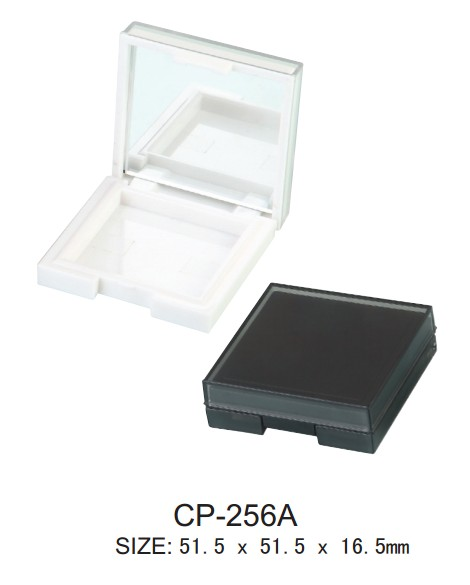 square empty compact case