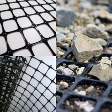 Polypropylene Biaxial Plastic Geogrid with PP material