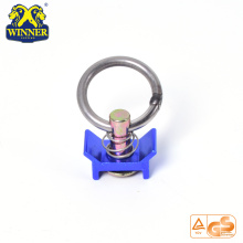 Single Stud Fitting With Stainless Steel Round Ring