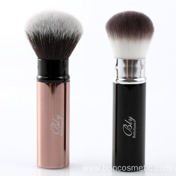Private Label retractable brush powder brush blush brush