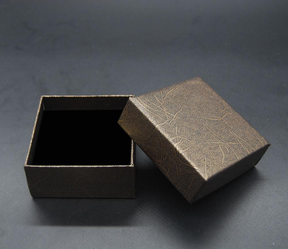 Square Earing Necklace Jewellery Paperboard Box