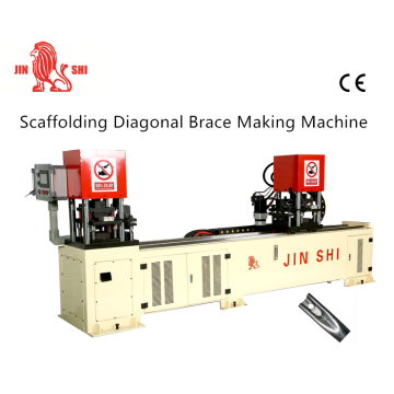 Scaffolding Cross Brace Making Machine