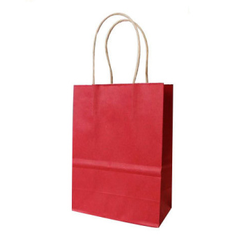 Craft paper shopping bag custom