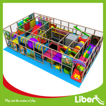Kindergarten indoor playground structure for kids