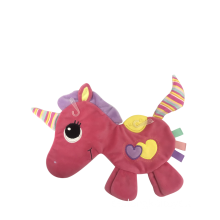 Baby Comfort Handduk Unicorn Rosy With Stripe