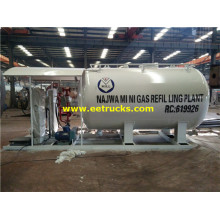 5m3 Mini Propane Skid Filling Plants