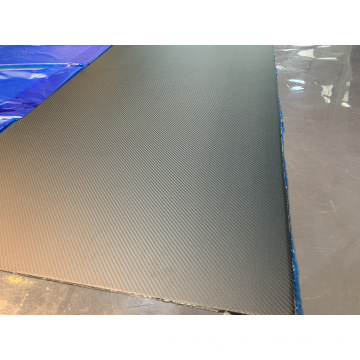 I-1000X1500X2.0mm i-3K twill matte carbon fiber sheet