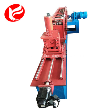 Lipped channel angle iron cold roll forming machine