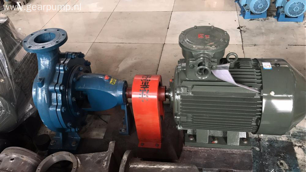 Horizontal centrifugal water transfer pump