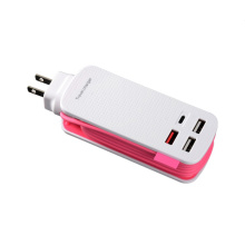 US Travel 4 USB Port Power Adapter Charger