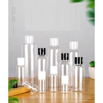 PET transparent bottle cosmetic clamshell bottle