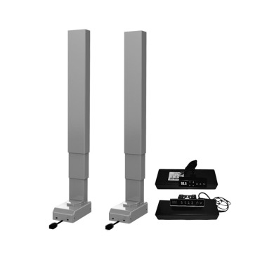 Motorised adjustable desk legs furniture lifting columns