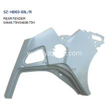 Personlized Products for REAR Fenders For HONDA,Honda Bobber Rear Fender,Honda Shadow Fenders Manufacturers and Suppliers in China Steel Body Autoparts Honda 2015 FIT/JAZZ REAR FENDER supply to Bulgaria Exporter