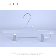 Acrylic Trouser Pants Skirts Hanger With Clips