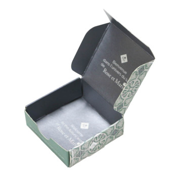 Card Coated Paper Packaging Box