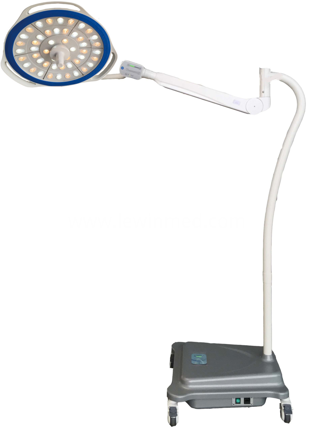Mobile led surgical shadowless lamp