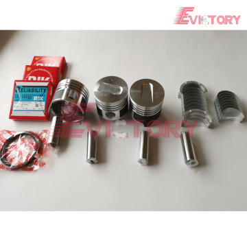 MITSUBISHI engine S4E-2 bearing crankshaft con rod conrod