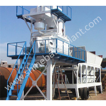 China Exporter for Mobile Concrete Plant 30 Portable Construction Concrete Plant supply to Pakistan Factory