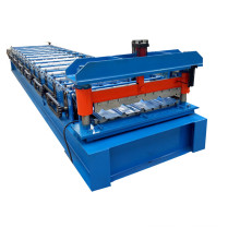 Best-Selling for Trapezoidal Sheet Roll Forming Machine,Trapezoidal Joint Type,Tile Making Machine Manufacturers and Suppliers in China Galvanized roof panel machine export to India Wholesale