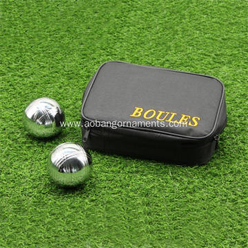 Chrome Plating Iron 3 Stripes Petanque