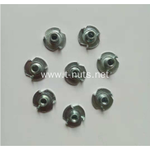 Low carbon steel Full thread Three jaw T-nuts