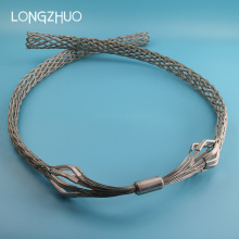Hot-Dipped Galvanized Steel Cable Grips Cable Mesh Sock