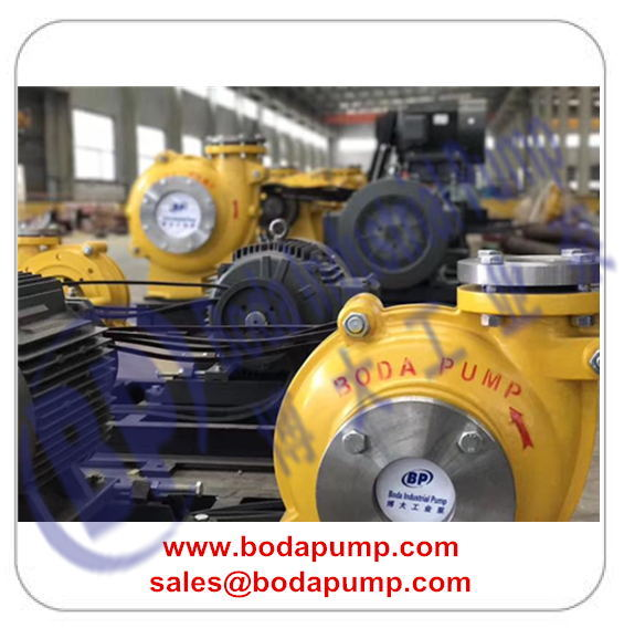 slurry pump drive by electric motor