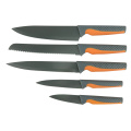 5 piece non-stick knife set