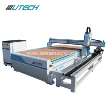 1530 4 axis cnc router for 3d wood