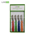 Butter Knife Wooden Handle 4 Pieces Set